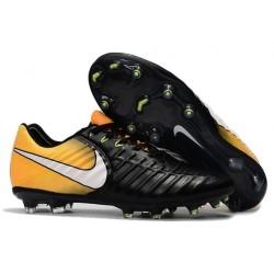 Nike Tiempo Legend VI FG ACC Uomo Scarpe Calcio Nero Arancio