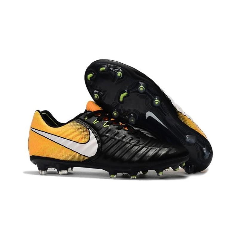 Scarpe Fg Nike Tiempo Calcio Vi Uomo Nero Acc Legend Arancio DIWEHY29