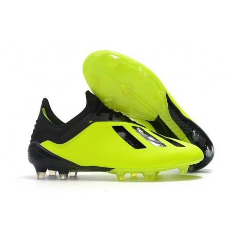 Scarpe da Calcio adidas X 18.1 FG - Giallo Nero