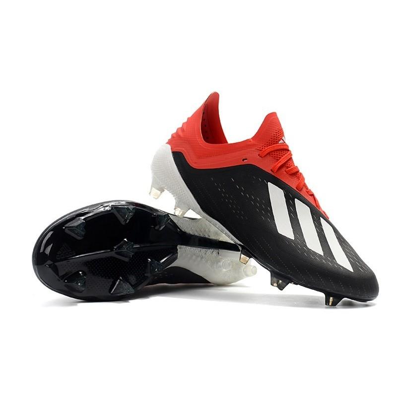 various colors 70b9b e4117 Scarpe da Calcio adidas X 18.1 FG - Nero Bianca Rosso