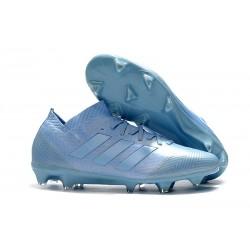 Adidas Nemeziz Messi 18.1 FG Scarpa Coppa del Mondo - Blu