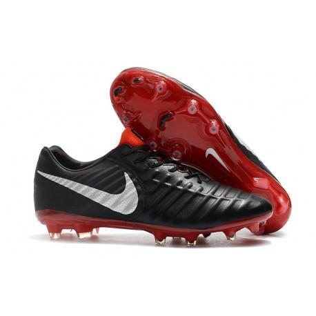 Nike Scarpe da Calcio Tiempo Legend 7 FG - Nero Rosso