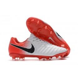Nike Scarpe da Calcio Tiempo Legend 7 FG - Bianca Rosso