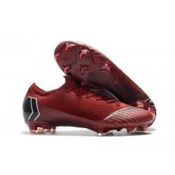 Nike Scarpe da Calcio Mercurial Vapor 12 Elite FG ACC Rosso Nero