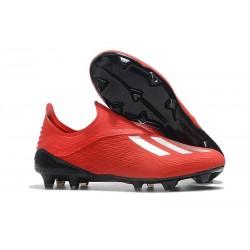 adidas X 18+ FG Scarpa da Calcio - Rosso Bianca