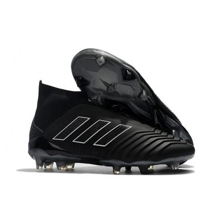Adidas Predator 18+ FG Scarpe Uomo - Shadow Mode Nero