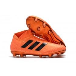 adidas Nemeziz 18+ FG Nuovo Scarpe da Calcio - Arancio Nero
