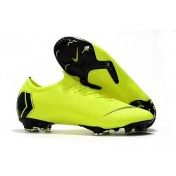 Nike Scarpe da Calcio Mercurial Vapor 12 Elite FG ACC Volt Nero