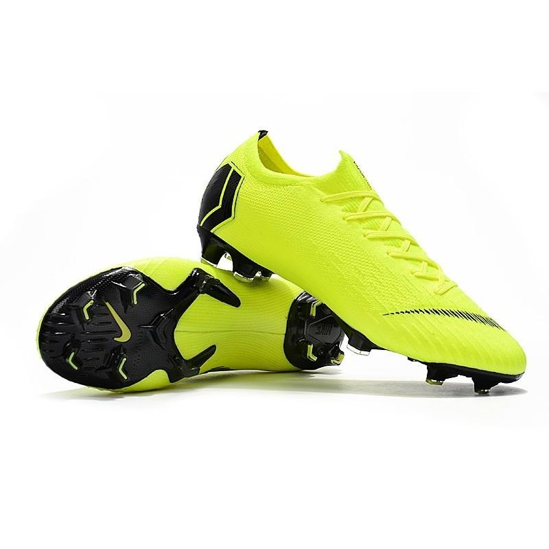 Nike Nero Mercurial 12 Volt Da Vapor Fg Acc Calcio Scarpe Elite qpUMVSz