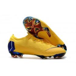 Nike Scarpe da Calcio Mercurial Vapor 12 Elite FG ACC Giallo Blu