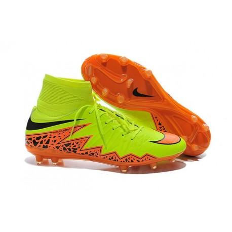 san francisco b0a8e e6e03 Nike Scarpe Calcio Hypervenom Phantom II FG ACC Giallo Aranc