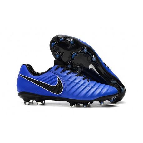 Nike Tiempo Legend VII Elite FG Nuovo Scarpa - Blu Nero
