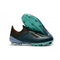 adidas X 18+ FG Scarpa da Calcio - Blu Nero