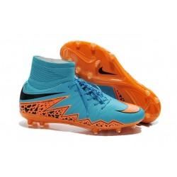 Nike Scarpe Calcio Hypervenom Phantom II FG ACC Blu Arancio