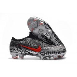 Nike Scarpe da Calcio Mercurial Vapor 12 Elite FG Neymar Nero Rosso