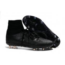 Nike Scarpe Calcio Hypervenom Phantom II FG ACC Tutto Nero