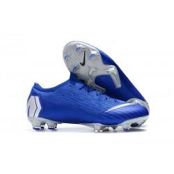 Nike Mercurial Vapor XII 360 Elite FG Scarpa - Blu Argento
