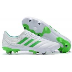 Scarpe calcio adidas Copa 19.1 FG da Adult - Bianco Verde