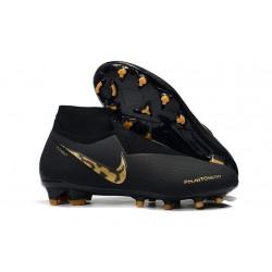 Nike Phantom VSN Elite DF FG Scarpa Uomo - Nero Oro