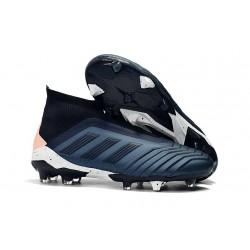 Adidas Predator 18+ FG Scarpe Uomo - Ciano Nero