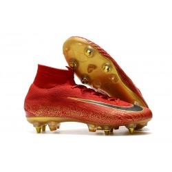 Cristiano Ronaldo Nike Mercurial Superfly VI Elite SG-Pro AC Rosso Oro