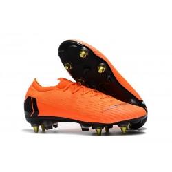 Scarpe Calcio Nike Mercurial Vapor Elite SG-Pro Arancio Nero