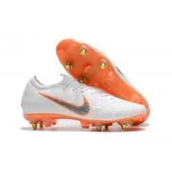 Scarpe Calcio Nike Mercurial Vapor Elite SG-Pro Bianco Arancio
