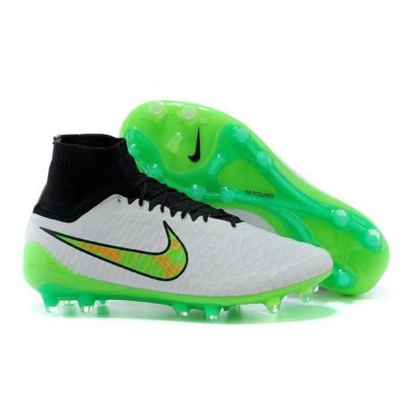 outlet store 3ed57 aee95 Scarpe da Calcio Nike Magista Obra FG Con Tacchetti Bianco V