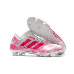 Adidas Nemeziz Messi 18.1 FG Scarpa - Rosa Bianco