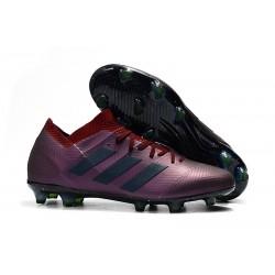 Adidas Nemeziz Messi 18.1 FG Scarpa - Violeta Nero
