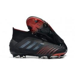 Adidas Archetic Scarpa da Calcio Nuovo Predator 19+ FG - Nero Rosso