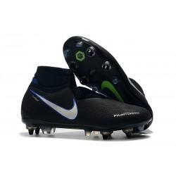 Scarpe Nike Phantom Vision Elite DF Anti-Clog SG-Pro Negro Blu