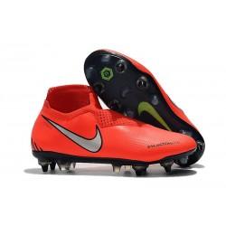 Scarpe Nike Phantom Vision Elite DF Anti-Clog SG-Pro Rosso Argento