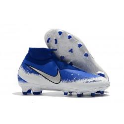 Nike Phantom VSN Elite DF FG Scarpa Uomo - Blu Bianco